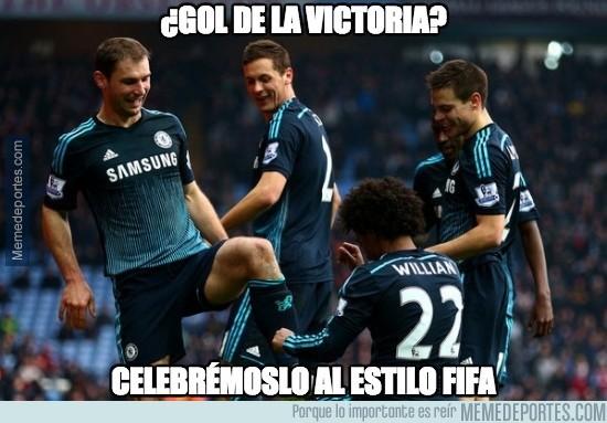 445897 - El gol merecía esta celebración