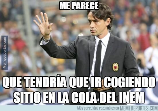 446062 - El Milan no levanta cabeza. Inzaghi con pie y medio fuera
