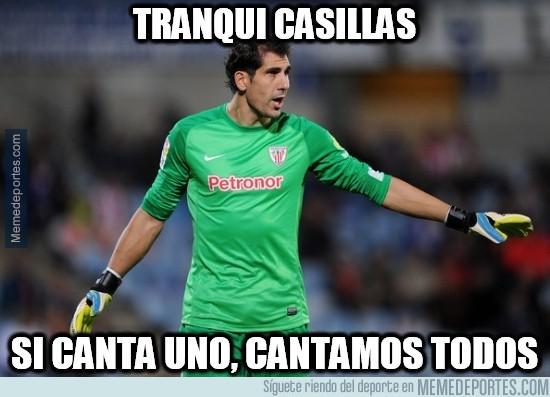 446584 - Iraizoz, empático con Casillas