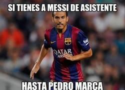 Enlace a Genialidad de Messi y gol de Pedro