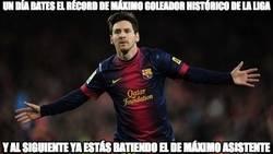 Enlace a Messi no tiene límites