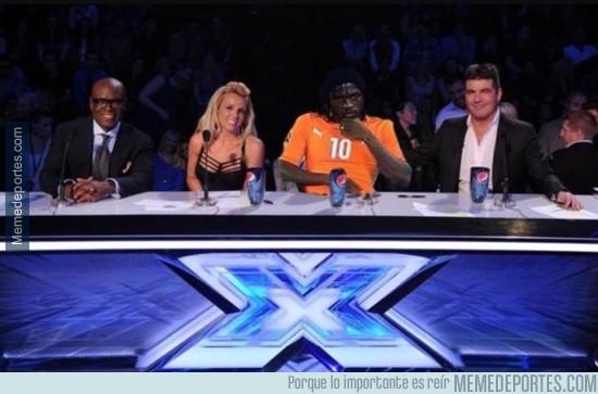 446875 - No sabíamos que Gervinho es el nuevo juez de X Factor