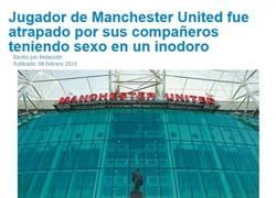 Enlace a Escándalo en el vestuario del United