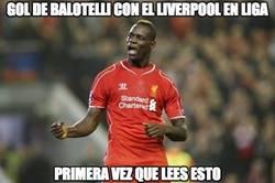 Enlace a Gol de Balotelli con el Liverpool en liga