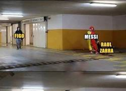 Enlace a Messi acabó con Raúl y Zarra, ahora va a Por Figo