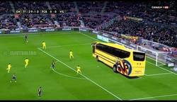 Enlace a Barça-Villarreal en la primera parte