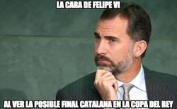 Enlace a La cara de Felipe VI
