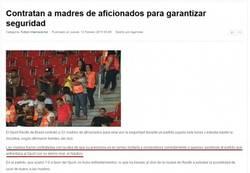 Enlace a Y de esta forma han conseguido detener a los ultras en Brasil