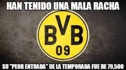 Enlace a Afición del Borussia, un ejemplo de lealtad