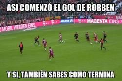 Enlace a Un típico gol de Robben, ya sabes cómo fue [Mira el gol en el directo]