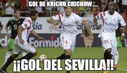 Enlace a ¡Por fin el Sevilla abre el marcador!