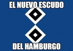Enlace a El nuevo escudo del Hamburgo tras el 8-0