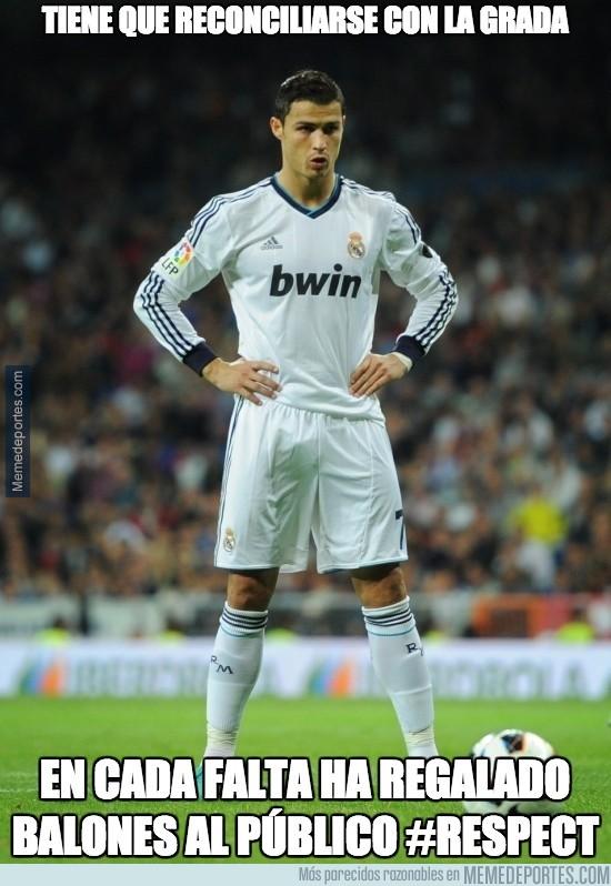 448962 - Así ha sido la reconciliación de Cristiano con el Bernabéu