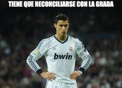 Enlace a Así ha sido la reconciliación de Cristiano con el Bernabéu
