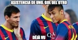 Enlace a Messi Neymar, Déjà vu [Síguelo en nuestro minuto a minuto]