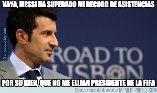 449356 - Ya está hecho, Messi máximo asistente de la historia de la liga