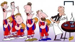 Enlace a El Bayern cocinando su victoria más abultada en los últimos 30 años