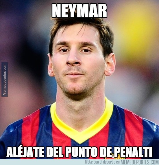 449428 - Esta vez Messi no le ha dejado el penalty a Neymar, por si acaso