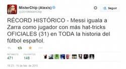 Enlace a Otro récord más para Leo Messi