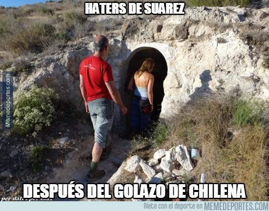 449454 - Haters de Suárez, id desfilando