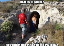 Enlace a Haters de Suárez, id desfilando