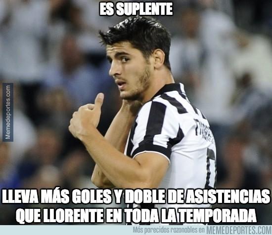 449697 - Morata adaptándose finalmente a la Juve