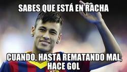 Enlace a Racha de Neymar impresionante