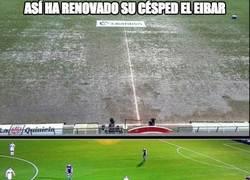 Enlace a Así ha renovado su césped el Eibar