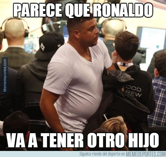 450093 - Parece que Ronaldo va a tener otro hijo