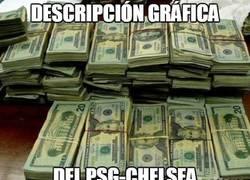 Enlace a Descripción gráfica del PSG-Chelsea