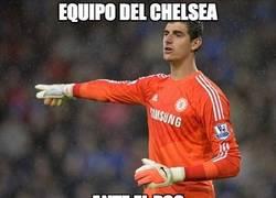 Enlace a Sin Courtois el Chelsea sería otra cosa