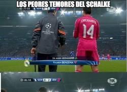 Enlace a Chicharito y Arbeloa juntos en el campo, el Schalke tiembla