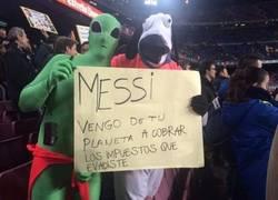 Enlace a Messi, ya te han pillado
