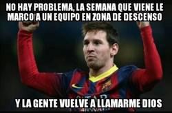 Enlace a Tranquilos, Messi sólo se está reservando para el Granada
