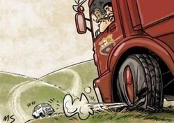 Enlace a El gran camión del Barça pinchó ante el Málaga