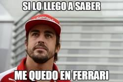 Enlace a La mala suerte persigue a Alonso, vaya donde vaya