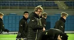 Enlace a GIF: Ha vuelto la sonrisa a los entrenamientos del Borussia