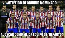Enlace a Atlético de Madrid nominado a los Óscar