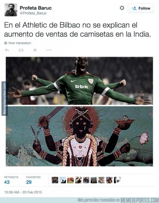 455725 - He aquí el porqué el Athletic de Bilbao está de moda en India