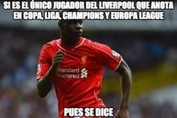 Enlace a Si es el único jugador del Liverpool que anota en copa, liga, champions y europa league