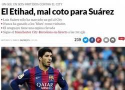 Enlace a Marca le suelta el reto a Luis Suárez. Así que hoy ya sabéis, partidazo de Lucho