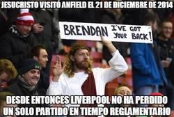 Enlace a Jesucristo visitó Anfield el 21 de diciembre de 2014
