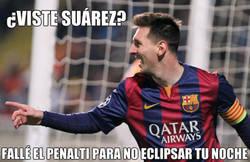 Enlace a Messi el generoso