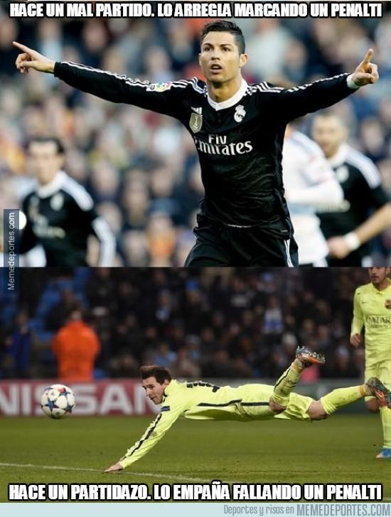 457171 - Diferencias entre Cristiano y Messi