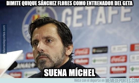 458207 - Dimite Quique Sánchez Flores como entrenador del Getafe