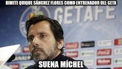 Enlace a Dimite Quique Sánchez Flores como entrenador del Getafe