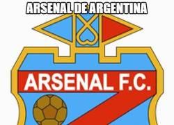 Enlace a Mucho mérito el del Arsenal de Argentina