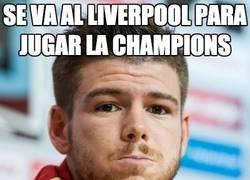 Enlace a Se va al Liverpool para jugar la Champions