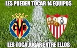 Enlace a Mala suerte para Sevilla y Villarreal