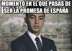 Enlace a Momento en el que pasas de ser la promesa de España...